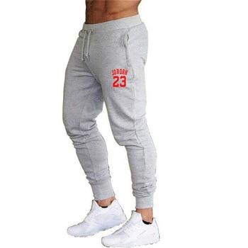 2020 New Men Joggers for Jordan 23 Casual Men Sweatpants Gray Joggers Homme Trousers Sporting Clothing Bodybuilding Pants K - S, 13