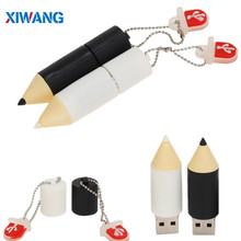 usb flash drive 128GB 64GB lovely Cartoon pencil pen pendrive 32GB 16GB 8GB Real capacity memory stick u disk gift