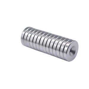 5/10/15 шт. 25x5-5 мм N35 Постоянный NdFeB сильные магниты 25*5 мм отверстие 5 мм круглый потайные неодимовые магнитные магнит 25*5-5 мм