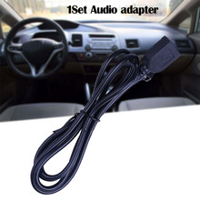 USB AUX Cable Adapter Audio Media Music Interface For Honda Geshitu/ Civic Car Accessories Auto Products #PY10