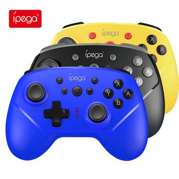 Ipega PG-9162 Gamepad do Nintendo Switch NS-przełącznik konsoli bezprzewodowy Gamepad Bluetooth USB kontroler typu Joystick kontroli PC TV box tanie i dobre opinie Brak CN (pochodzenie) Gamepady