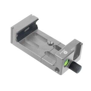 Image 3 - XJ 8 삼각대 헤드 브래킷 휴대 전화 홀더 클립 전화 손전등 마이크 스피릿 레벨 및 콜드 슈 마운트