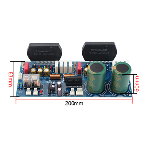 Image 3 - GHXAMP STK4046V Thick Film Amplifier Audio Board 120W*2 High Power 2.0 Audio Amplifiers PC1237 Speaker By Sanyo High Quality