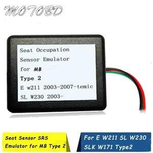 2020 место размещения датчик занятости Эмулятор SRS для MB Тип 2 E W211 2004-2007-Temic SL W230 2004 + SLK W171