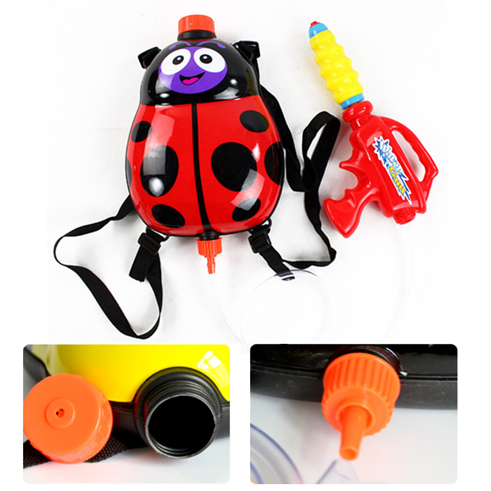 Hot Sale Children Kids Water Spray Blaster Toy Pumping Pull With Backpack For Summer Beach