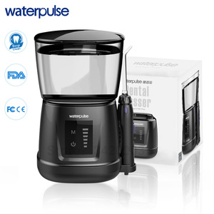 Image 1 - Waterpulse V700P New Water Flosser 1000ml Capacity Oral Irrigator Traveler Portable Dental Oral Flosser With 6pcs Jet Tips