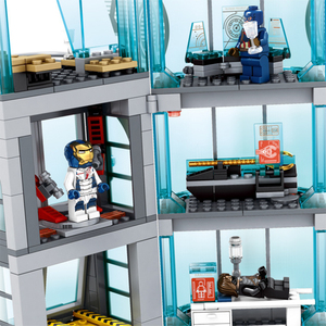 Image 5 - Upgraded Version Ironman Compatible Lepining Avenger Tower Fit Avengers Gift Building Block Bricks Toys