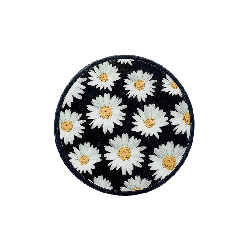 Beautiful Daisy Cartoon Round Universal Mobile Phone Ring Holder Fold Stand Bracket Mount For All Phone