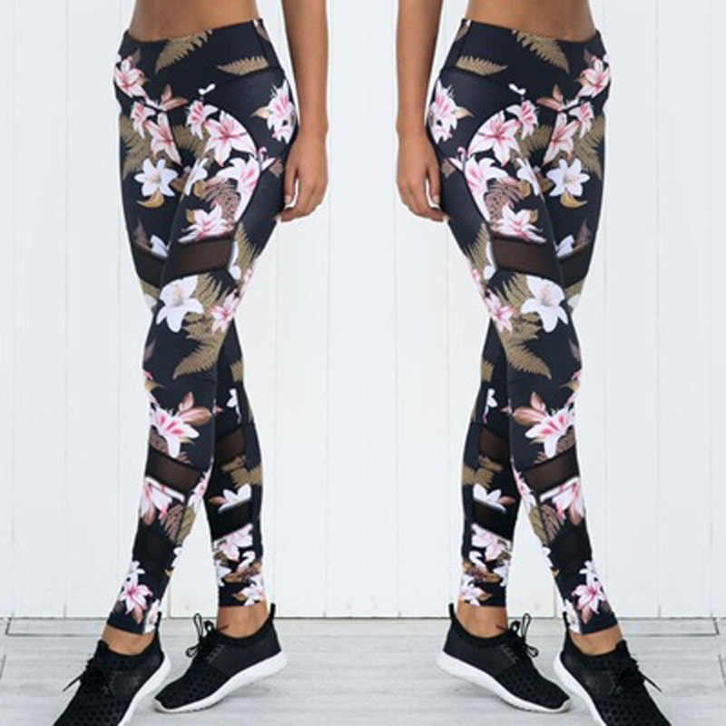 Trainingsanzug 1 oder 2 Stück Yoga Set Floral Print Frauen Bh + Lange Hosen Sportsuite Für Frauen Fitness Sport Anzug frauen Sportswear