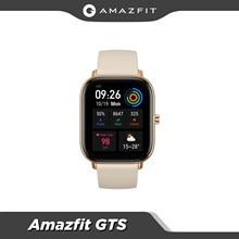 Amazfit-reloj inteligente GTS Original, dispositivo con batería larga, 12 modos deportivos, GPS, Control de música, resistente al agua hasta 5atm, con cuerpo de Metal