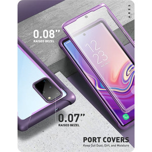 Image 5 - For Samsung Galaxy S20 Plus Case (2020) Ares Full Body Rugged Case WITH Built in Screen Protector Compatible with Fingerprint ID