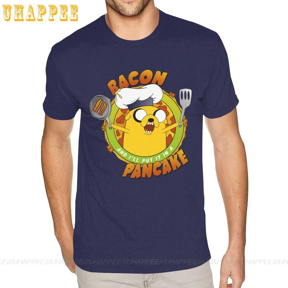 Bacon Pancakes Womens /& Kids T-Shirt Novelty Gift Adventure Time Funny Geek TV