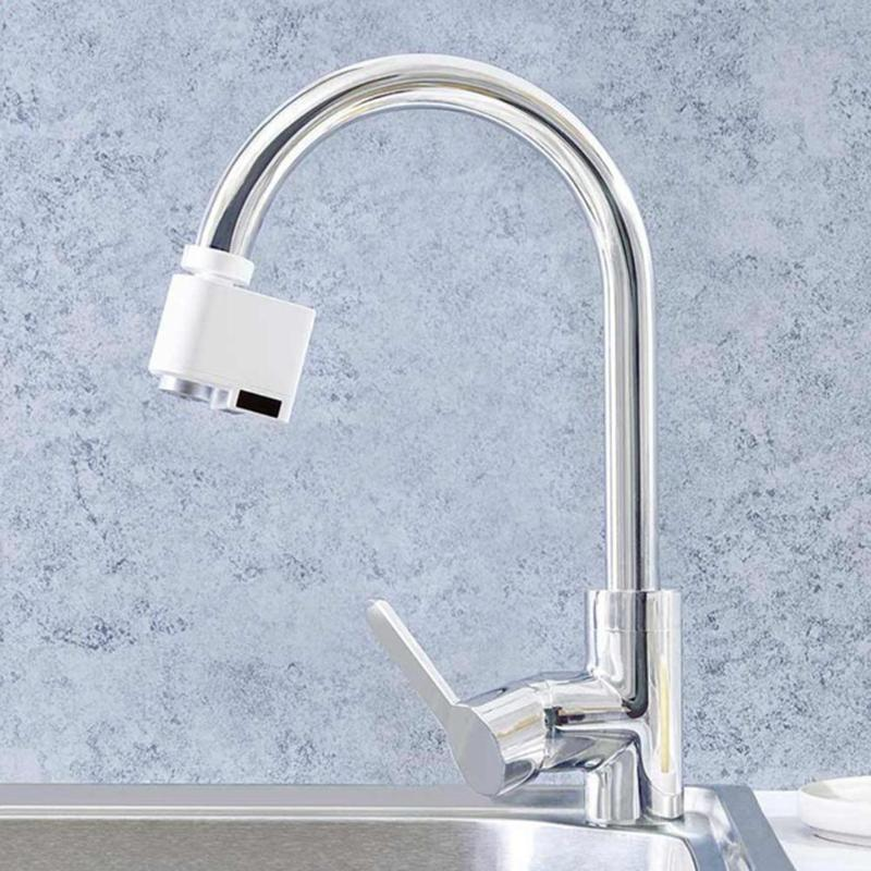 Stainless Steel Water Economizer USB Automatic Sense Infrared Induction Sink Faucet Household Kitchen Water Saving Accessories