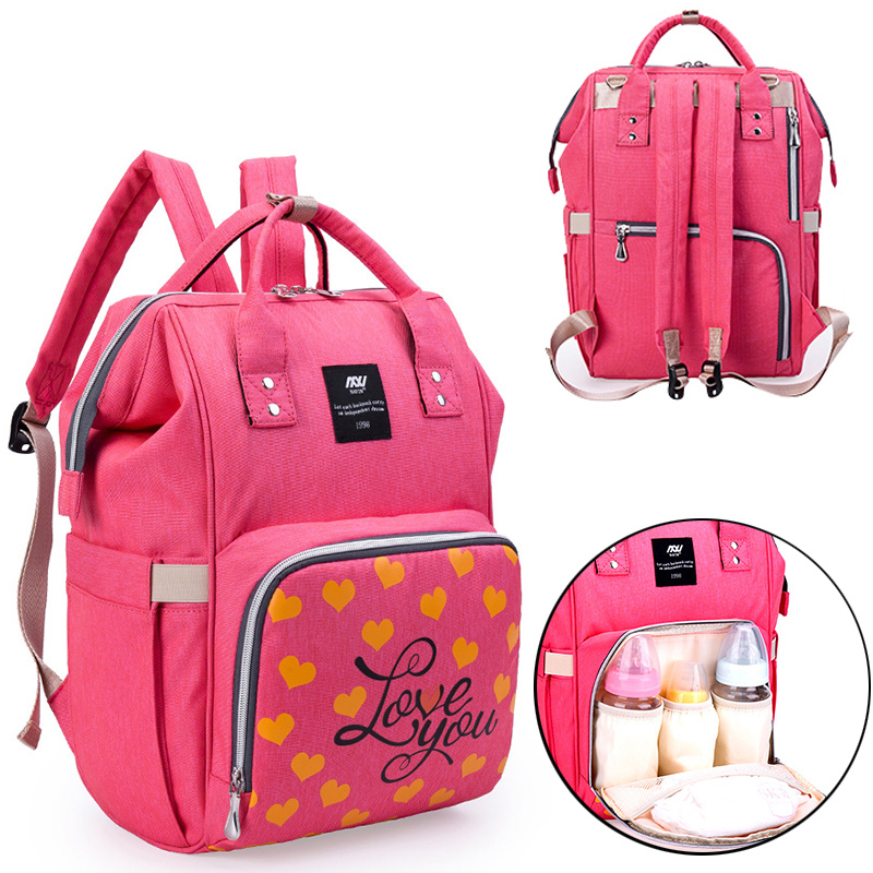 New Multifunctional Diaper Bags Large Capacity Backpack For Mom Shoulders Travel Convenient Diaper Bag Backpack Baby Mum Bag