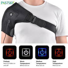 Electric Heat Therapy Shoulder Brace Orthopedic Care Belt Pain Relief Back Support Dislocated Rehabilitation Sport Tendinitis