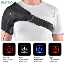 Terapia de calor elétrica ombro cinta cuidados ortopédicos cinto alívio da dor apoio para trás reabilitação deslocada esporte tendinite