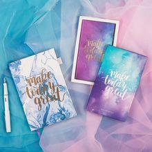 Звездное небо А5 дневник, записная книжка, планировщик, журнал органайзера блокнот-скетчбук, Звездный офис, школьные принадлежности, подарок на день рождения