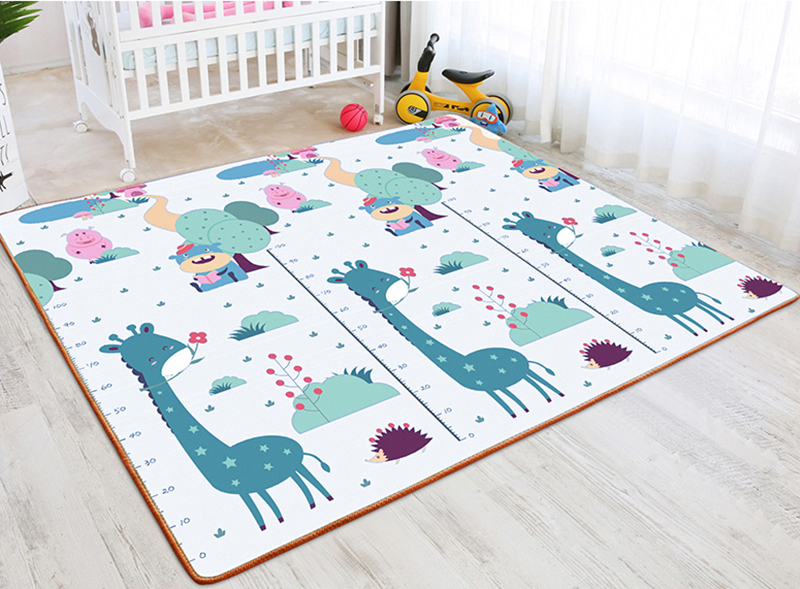H87d7a6e0be60470a8cab51d559a535269 New Baby Crawling Mat Thick Living Room Children's Home Foam Animals Play Mat Moisture-proof Game Gym Rug Kids Carpet