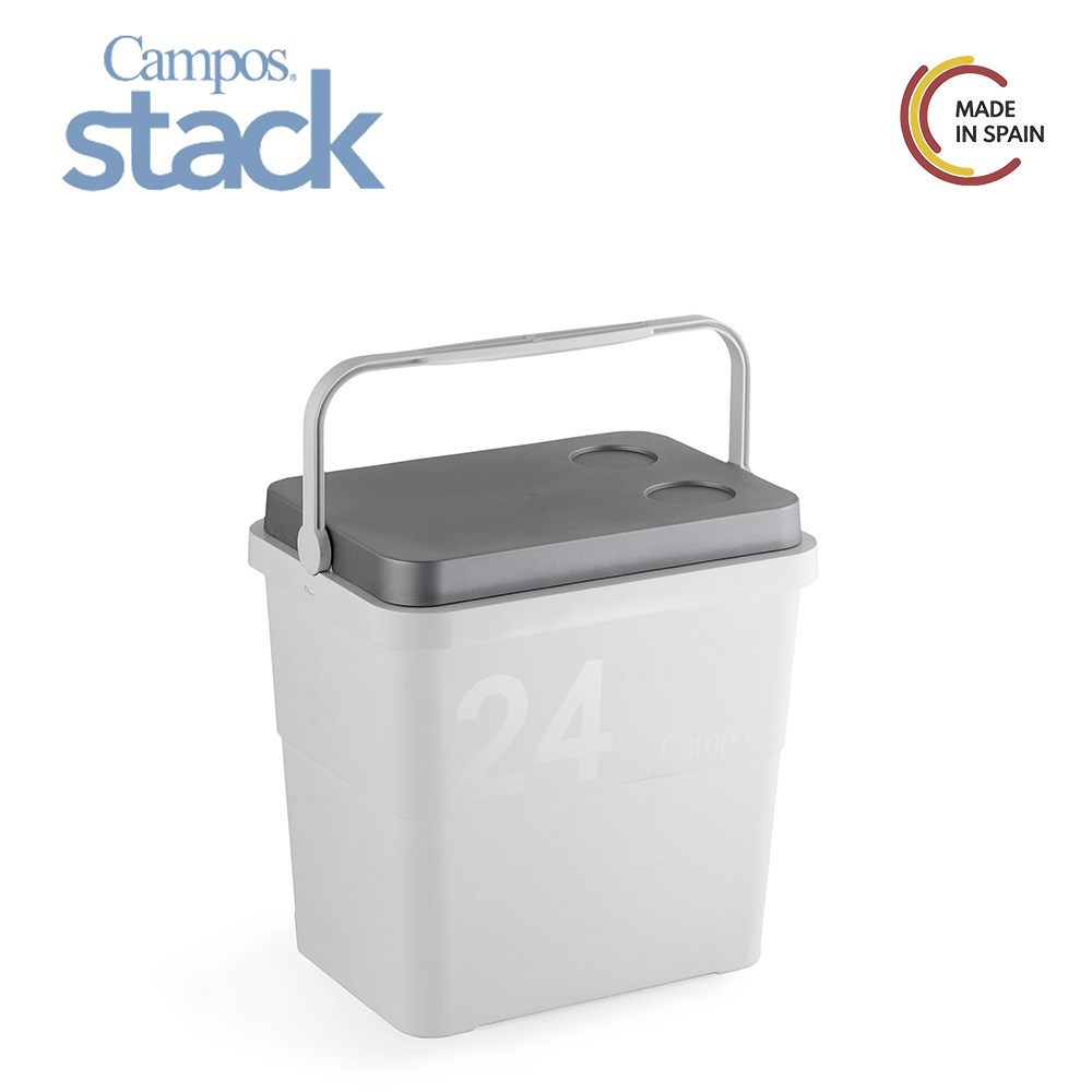 Fields-making Refrigerator Portable Stack Rigid, Stackable-16 Or 24 L