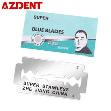 1000pcs Razor Blades for Men Face Clean Stainless Steel Double Edge Safety Shaving Shaver Blades Free Shipping