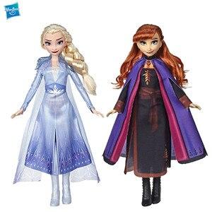 Hasbro Disney Frozen 2 Эльза Анна Принцесса, фигурка, игровой домик, игрушки для детей E6710