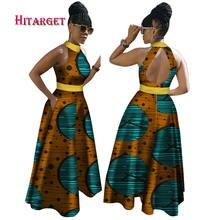 Новинка 2020 африканские платья с вощеным принтом для женщин