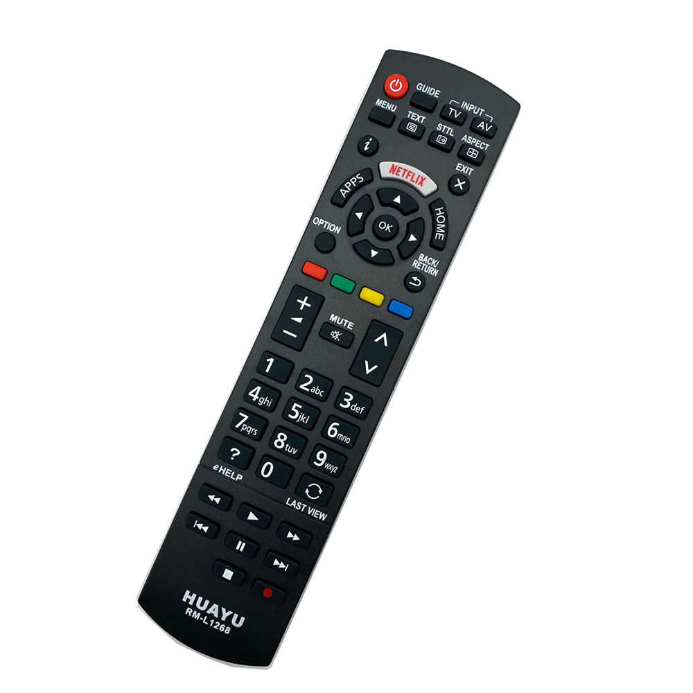 Easy Replacement Remote Control Suitable for Panasonic TH-42PZ77U TH-50PZ77U Viera LCD LED TV