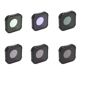 Image 5 - Uv cpl ND4 ND8 ND16 ND32 ND64ナイトレッドピンクマゼンタスター移動プロヒーロー9黒レンズカラーフィルタアクションカメラアクセサリー