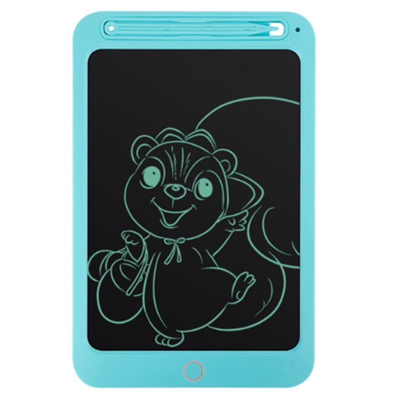Blue 10 Inch Monochrome Version Lcd Tablet Digital Drawing Tablet Children'S Hand-Painted Board Portable Electronic Graphics Boa