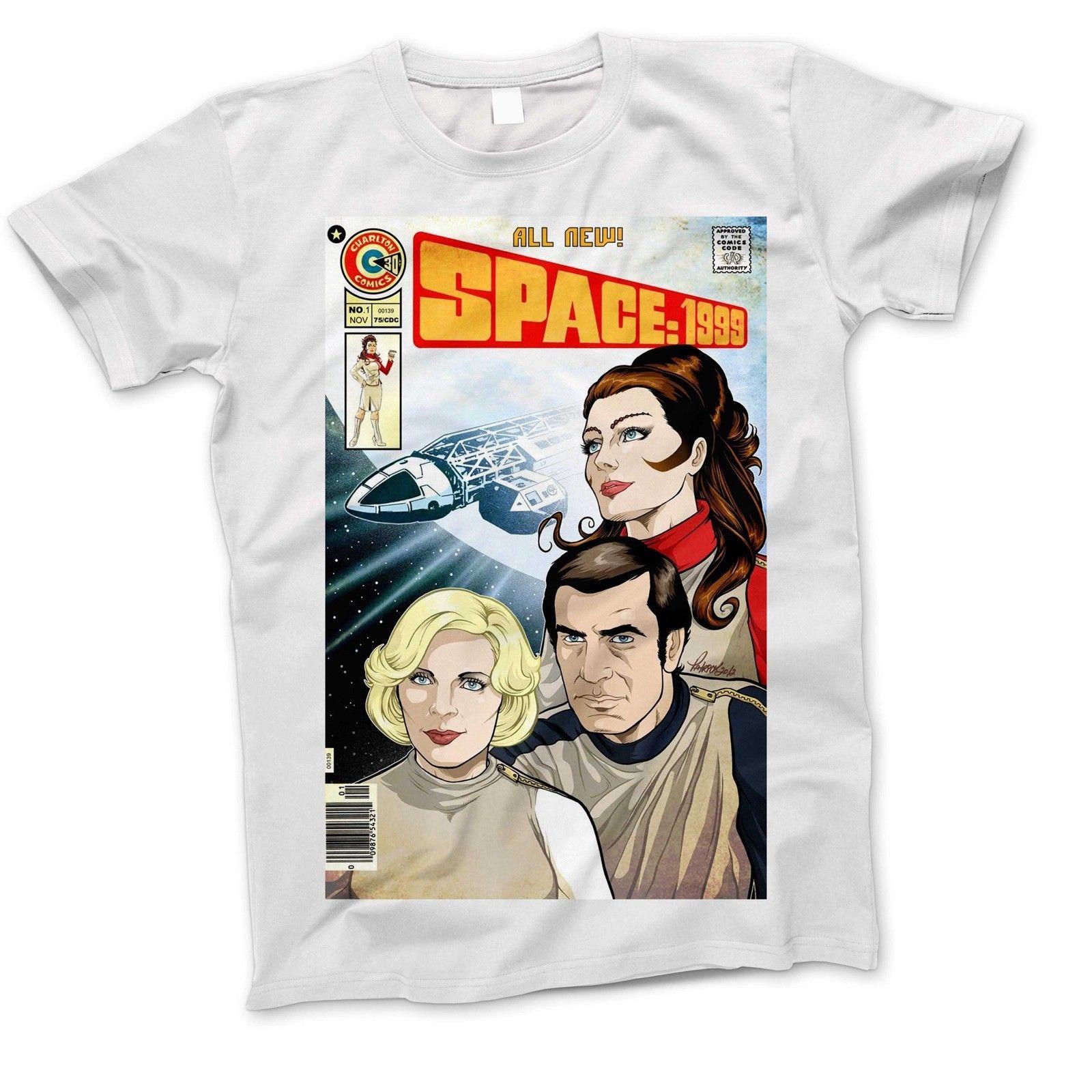 space 1999 Eagle Retro Tv Show Film 90S 80S Spaceship Movie Sci Fi 7 T Shirt