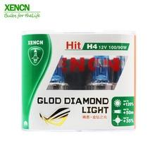 XENCN H4 P43t 12V 100/90W золото бриллиант светильник супер яркий белый галогеновые лампы для фар фара автомобиля Тюнинг автомобильный светильник источник света парковка