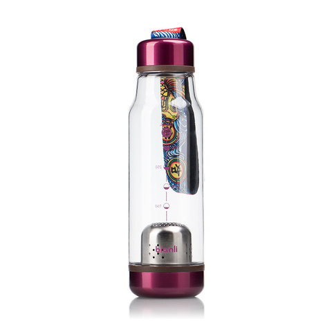 Transparent Filter Bottle Portable Water Cup Outdoor Sports Leakproof Travel Water Bottles Travel Bottels Plastic Water HH50SH Pakistan