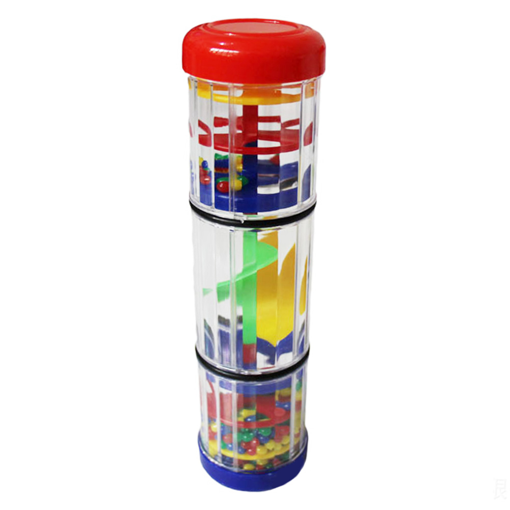 Toddlers Parent Child Early Learning Mini Sound Interest Cultivation Musical Toy Rain Stick Safe Rainmaker Shaker For Baby