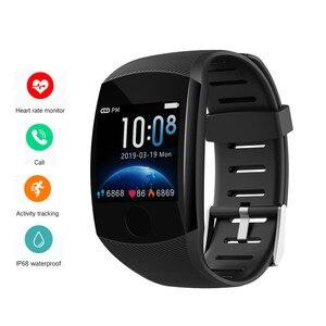 Image 1 - Reloj inteligente Q11 PK Q9, reloj inteligente deportivo con control del ritmo cardíaco y de la presión sanguínea de Larga modo de reposo para hombre y mujer