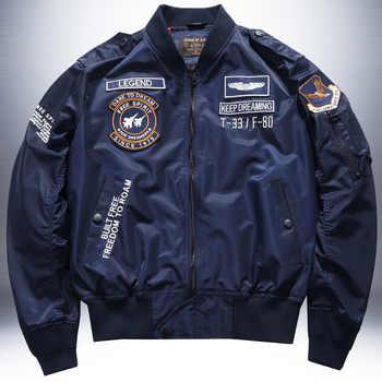 Pilote dhiver Veste Militaire rétro hommes américains hommes Bomber vestes Veste Militaire Homme hommes vestes et manteaux Baseball HH30JK