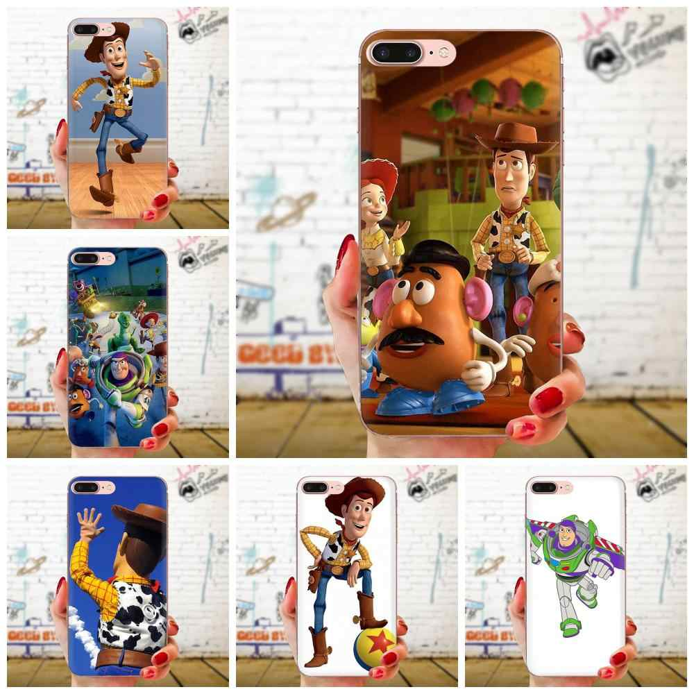 Soft Skin Painting Fashion Toy Story For Sony Xperia Z Z1 Z2 Z3 Z4 Z5 compact Mini M2 M4 M5 T3 E3 E5 XA XA1 XZ Premium