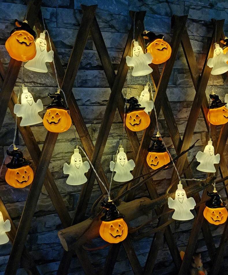 led guirlanda bonito noite lâmpada decorações do