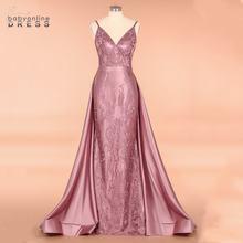 Элегантные королевские синие кружевные платья русалки с длинным