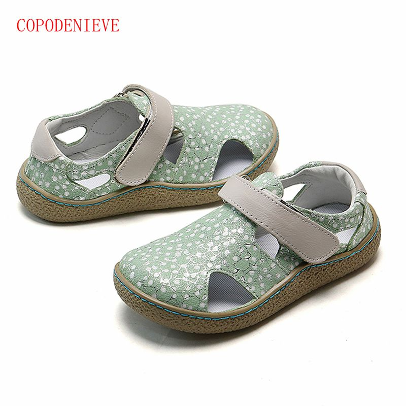 COPODENIEVE Girls Fashion Baby Shoes Sandals Soft Breathable Cool Comfortable Kids Children Male Leather Casual Children Sandal