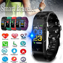 Smart Watch Men Women Heart Rate Monitor Blood Pressure Fitness Tracker 0.96 inch Smartwatch Sport Watch for ios android(China)
