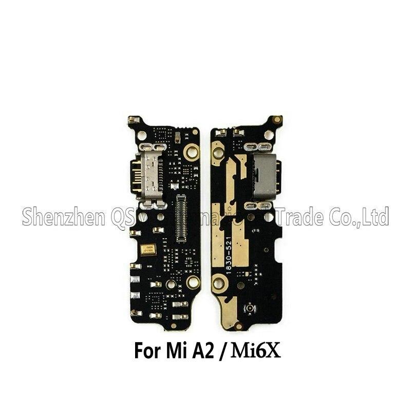 New USB Port Charging Dock Charger Board & Microphone Repair For Xiaomi Mi6 / Mi A2 Mi6X Mi 6X Phone