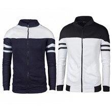 TJWLKJ men's jacket baseball jacket Casual pilot Coats jacket with a zipper Slim Fashion Male Outwear Mens working clothes zipper quilted pilot jacket