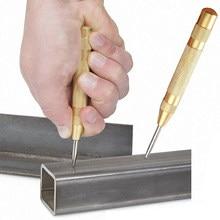 Herramientas de perforación automática para carpintería, brocas eléctricas de Metal, Pin central, punzón, marcador de abolladuras cargado, 5 pulgadas