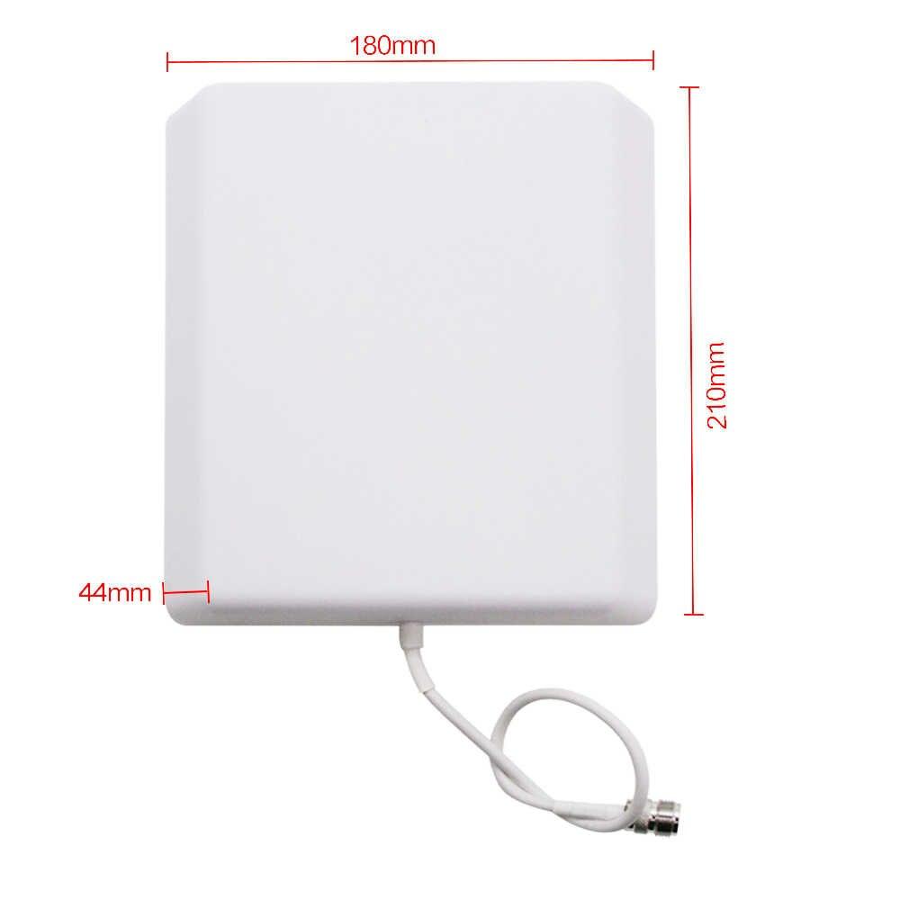 2G 3G 4G lte الخارجية الداخلية لوحة هوائي داخلي في الهواء الطلق هوائي 800-2500MHz ل GSM CDMA هاتف محمول Siganl الداعم مكرر