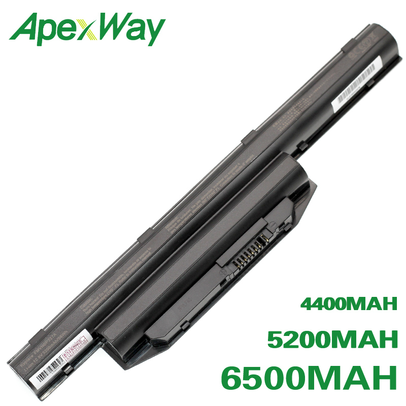 ApexWay batterie pour fujitsu FPCBP405Z FPCBP416 FPCBP426 FPCBP429 FPB0297S FPB0298S FPB0313S FMVNBP227A FMVNBP231 FMVNBP234