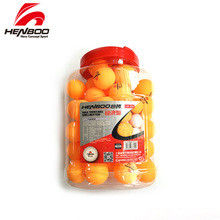 HENBOO 3-Star 60 pcs/lot Table Tennis Balls Ping Pong  New Material Seamed ABS Plastic Poly