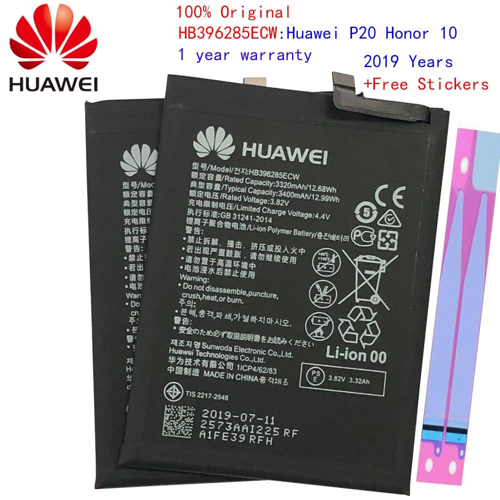 Hua Wei Replacement Phone Battery HB396285ECW 3400mAh For Huawei P20 / Honor 10 / Honor 10 Lite Original Batteries