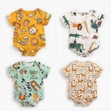 Детские Для мальчиков и девочек комбинезоны новорожденный младенец