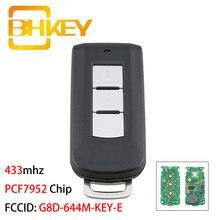 Bhkey g8d 644m key e 2 кнопки Автомобильный Дистанционный ключ