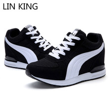 LIN KING New Spring Autumn Women Vulcanized Shoes
